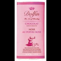 Dolfin Noir Poivre Rosé 57% Schokolade 70g Tafel
